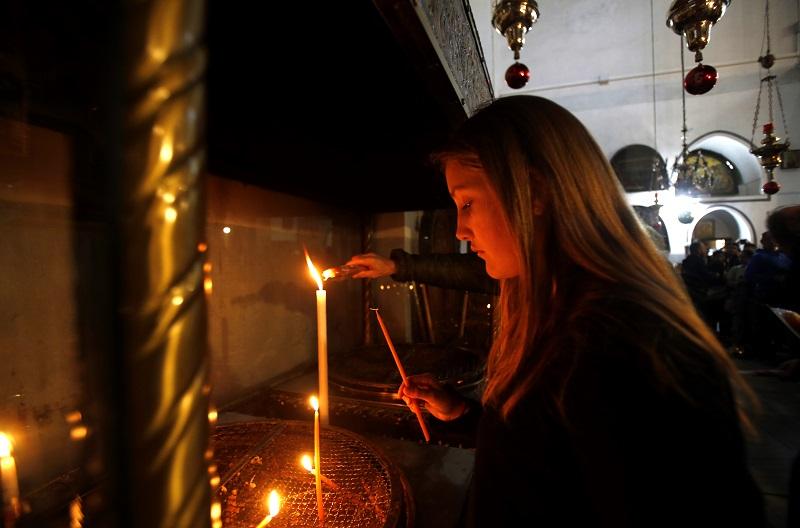 Belén recibe a peregrinos del mundo entero para celebrar la Navidad