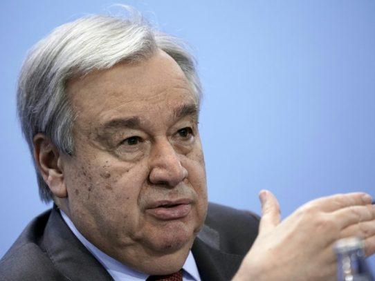 Secretario general de la ONU pide poner fin a los combates en el noroeste de Siria