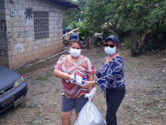 Comunidades de Arraiján reciben ayuda alimentaria en medio de la crisis