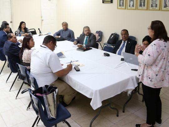 Revisan avances del plan de desarrollo de los pasos fronterizos de Paso Canoas y Guabito