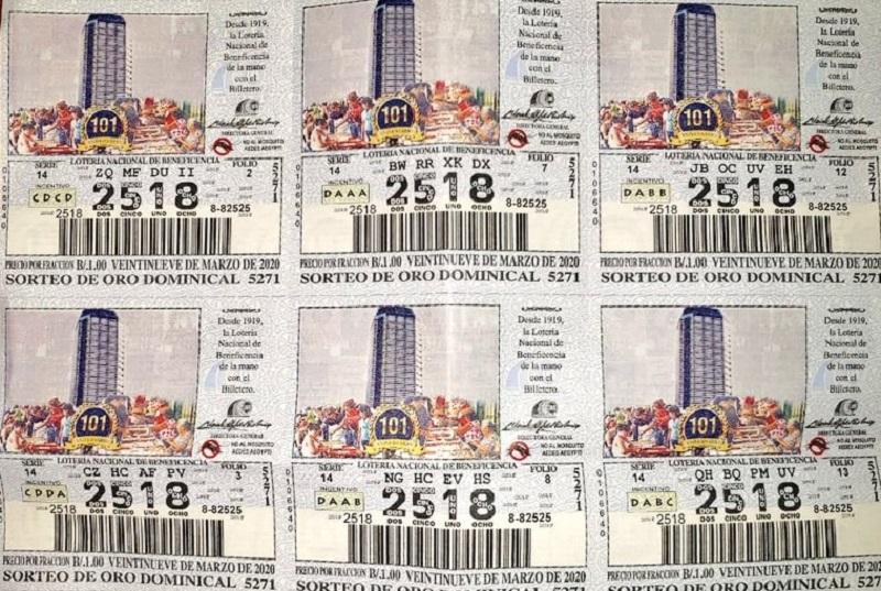 Chances y billetes que circularán desde este lunes corresponden al 29 de marzo