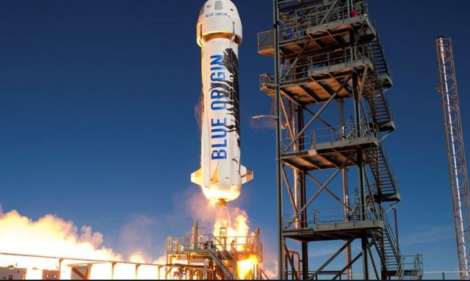 Nuevo vuelo de prueba del cohete de turismo espacial de Blue Origin