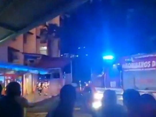 Conato de incendio en la sede de la Universidad de Panamá