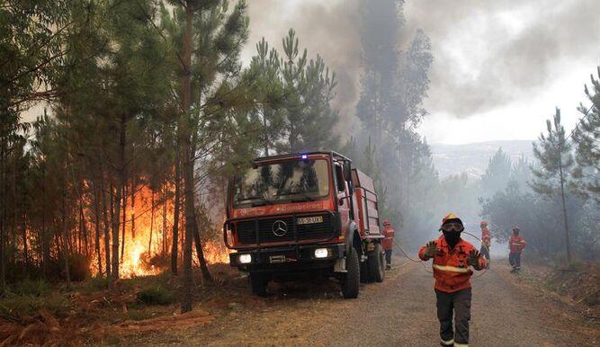 Primeros incendios en España en plena ola de calor en la península