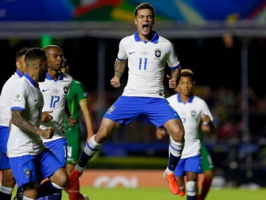 Brasil se impuso 3-0 a Bolivia en la inauguración de la Copa América 2019