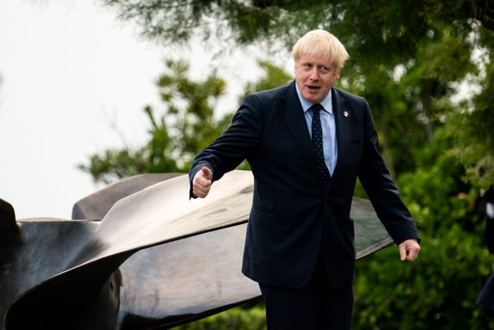"""Johnson afirma que hubo """"enormes avances"""" en conversaciones sobre el Brexit"""