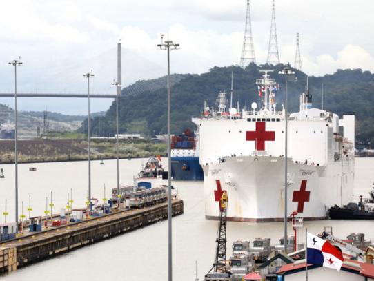 Buque hospital de la Marina estadounidense vuelve a Panamá el 1 de agosto