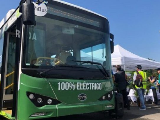Bus eléctrico operará en Brisas del Golf