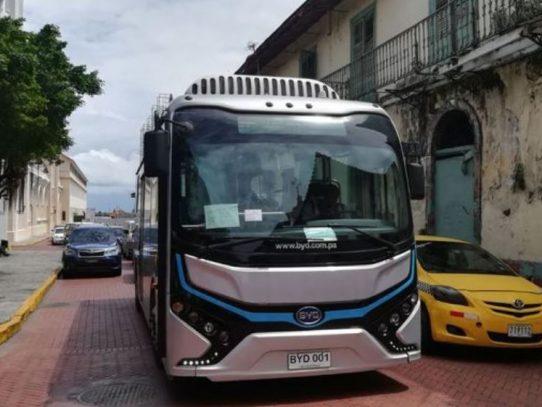 Bus eléctrico ha transportado a más de 50 mil usuarios en 10 meses de implementación
