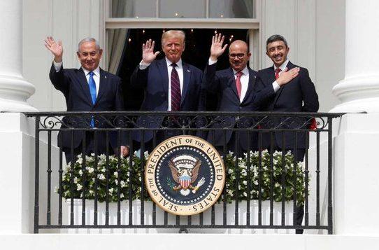 Israel sella su acuerdo con Emiratos y Baréin en la Casa Blanca