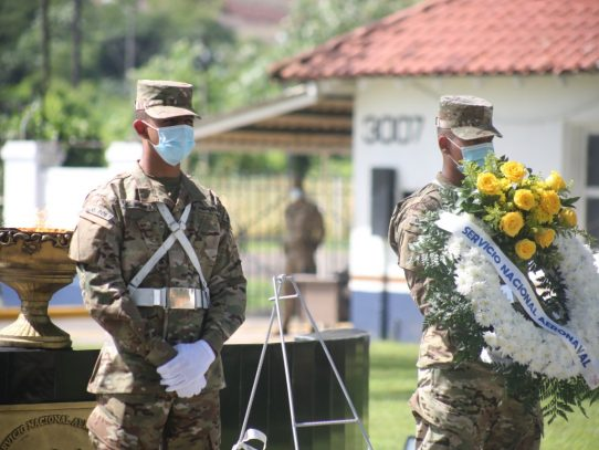 Honran a héroes de la Fuerza Pública, caídos en el cumplimiento del deber