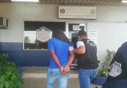 Capturan a presunto homicida en Juan Díaz