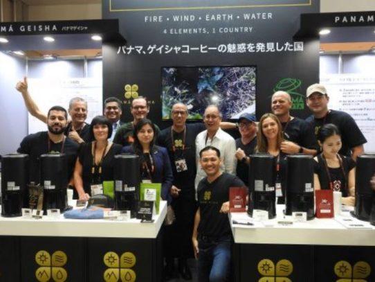 Panamá se lució en exposición mundial de cafés especiales en Japón