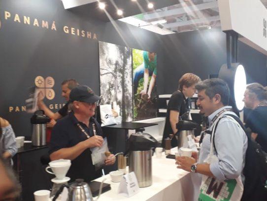 Panamá dice presente con su café Geisha en feria de Berlín