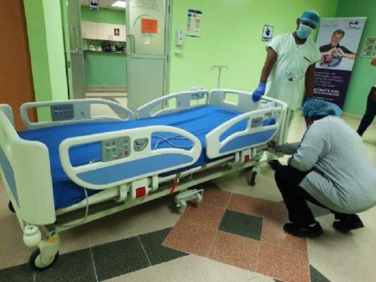 CSS entrega treinta camas nuevas al Hospital Irma de Lourdes Tzanetatos