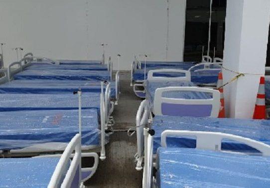 Hospital Dr. Rafael Hernández recibe 50 nuevas camas para pacientes con COVID-19