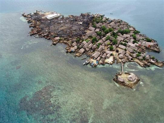 Isla Cangrejo en San Blas se inunda