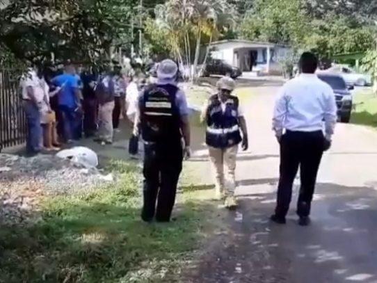 Encuentran un cadáver en Pueblo Nuevo de Capira