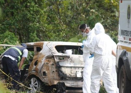 Realizan pruebas de ADN a cuerpos calcinados que fueron hallados en Capira