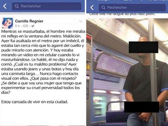 Hombre filmado masturbándose en metro de París condenado a prisión en suspenso