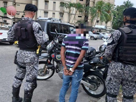 Durante acciones policiales se logra la captura de 126 personas