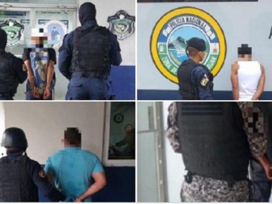 Al menos 96 personas capturadas durante operativos a nivel nacional