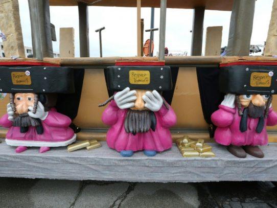 """La UE condena un carnaval belga por """"antisemita"""""""