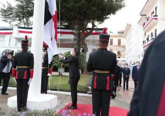 Vicepresidente Carrizo encabezó actos del 3 de noviembre en la presidencia