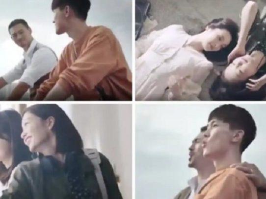 ¿Una pareja gay o padre e hijo?, publicidad francesa provoca burlas en China