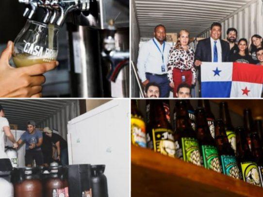 La panameña Casa Bruja exportó primer contenedor de cervezas artesanales a EE.UU.