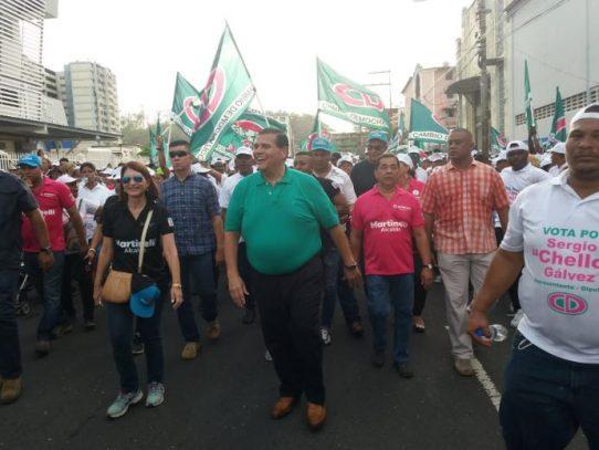 Chello Gálvez pide el voto castigo tras impugnación a las candidaturas de Martinelli