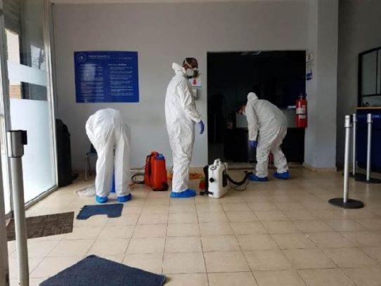 Realizan jornada de limpieza en la agencia de la CSS en Chepo