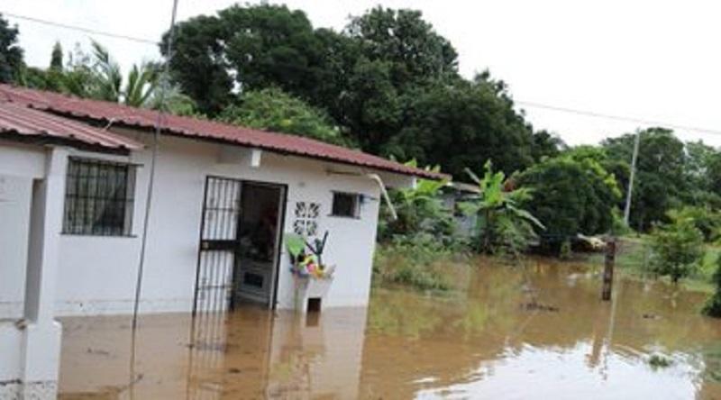Desborde de río en Chepo afectó 68 viviendas; evalúan daños y ayuda humanitaria