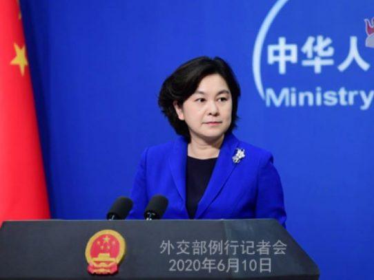 """China acusa a """"algunos países"""" de divulgar informaciones falsas"""