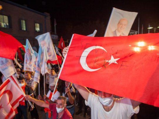 Turquía celebra la victoria de su protegido en Chipre del Norte