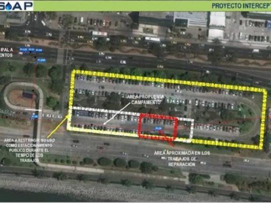 Estacionamientos de la Cinta Costera serán cerrados este lunes