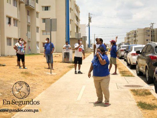 Protesta en Ciudad Esperanza por falta de agua, el IDAAN enviará carros cisternas