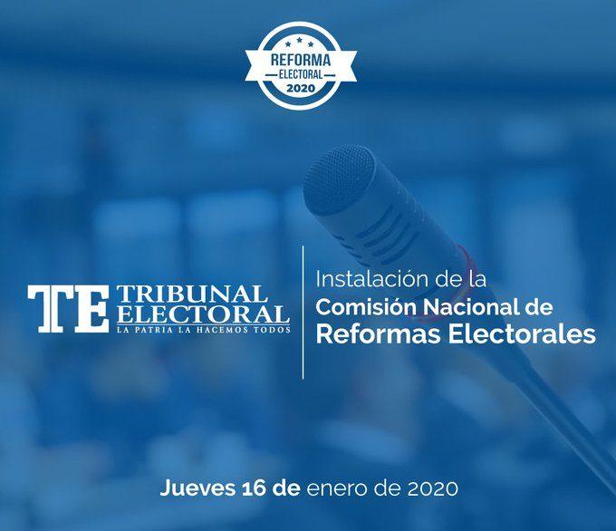 Comisión Nacional de Reformas Electorales será instalada este jueves