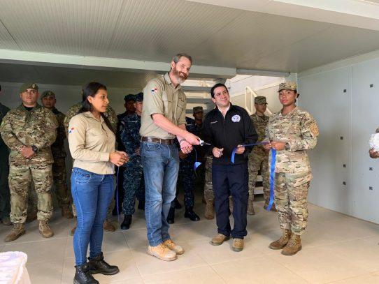 Cobre Panamá inaugura puesto táctico de Punta Rincón