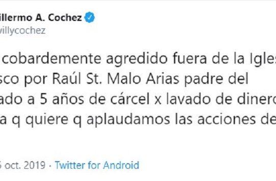 Enfrentamiento entre Guillermo Cochez y Raúl St. Malo padre