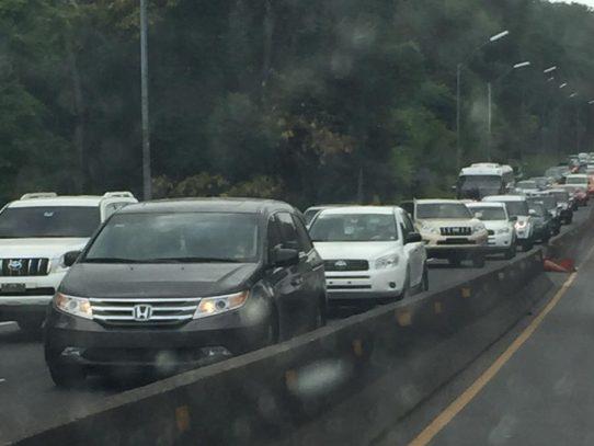 Cierre total de la vía Panamericana Arraiján - Cocolí este 17 de diciembre