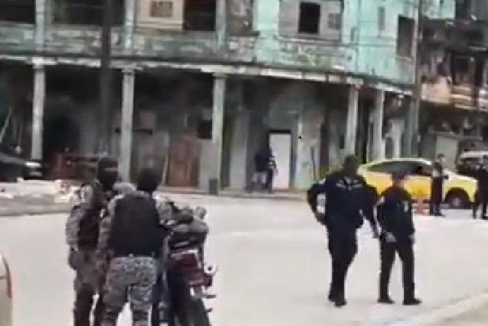 Un herido por balacera en Colón
