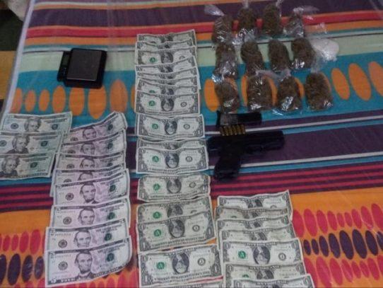 Un aprehendido por venta de sustancia ilícitas en Colón