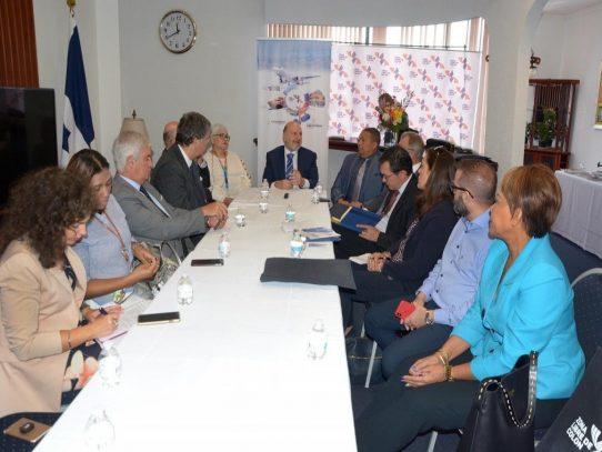 Países de la Unión Europea exploran oportunidades de negocios en Zona Libre y Colón