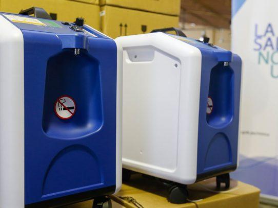 Organización internacional dona 360 concentradores de oxígeno para pacientes con Covid-19