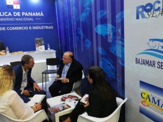 Sector pesquero de Panamá en importante feria mundial en España