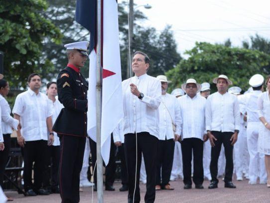 Inicia celebración de los 198 años del primer grito de independencia en La Villa de Los Santos