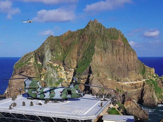 Corea del Sur inicia ensayos militares para defenderse de Japón