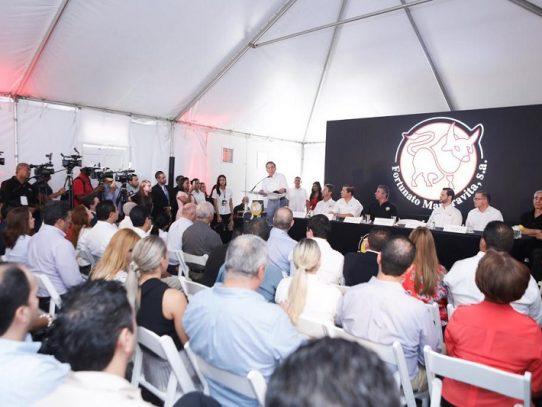 Cortizo destaca compromiso del gobierno para aumentar exportaciones