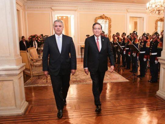 Cortizo llega a Colombia para reunión con Duque sobre aranceles a la ZLC